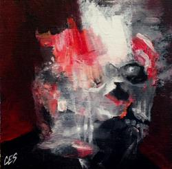 Art: Finding Francis Bacon by Artist Christine E. S. Code ~CES~