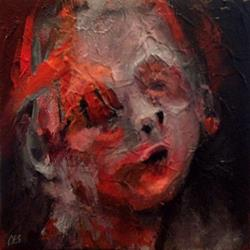 Art: Without Eyes You Cannot Cry by Artist Christine E. S. Code ~CES~