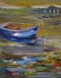 Art: Dinghy No.3 by Artist Delilah Smith