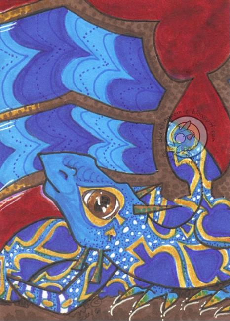 Art: Magic in Spades by Artist Emily J White