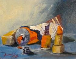 Art: War Paint by Artist Delilah Smith