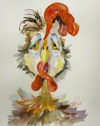 Art: Chicken Ryan by Artist Delilah Smith