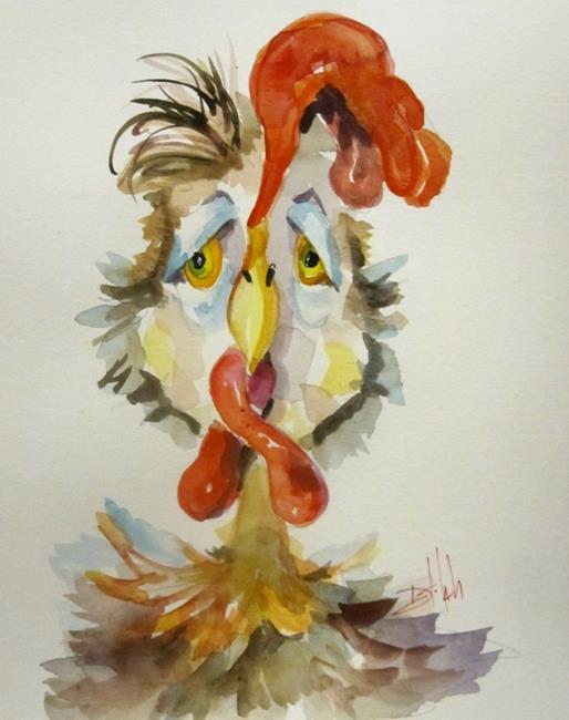 Art: Chicken Ryan-sold by Artist Delilah Smith