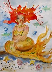 Art: Mermaid 10 by Artist Delilah Smith