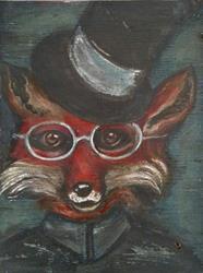 Art: The Dapper Fox by Artist Chris Jeanguenat