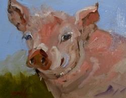 Art: Piggly Wiggly by Artist Delilah Smith