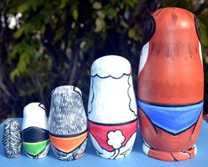 Detail Image for art Nesting Dog Doll Set 3