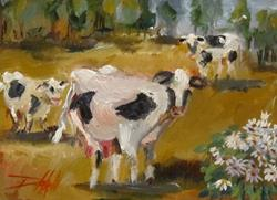 Art: Cow Patch by Artist Delilah Smith