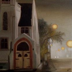 Art: Eston United Church by Artist Christine E. S. Code ~CES~