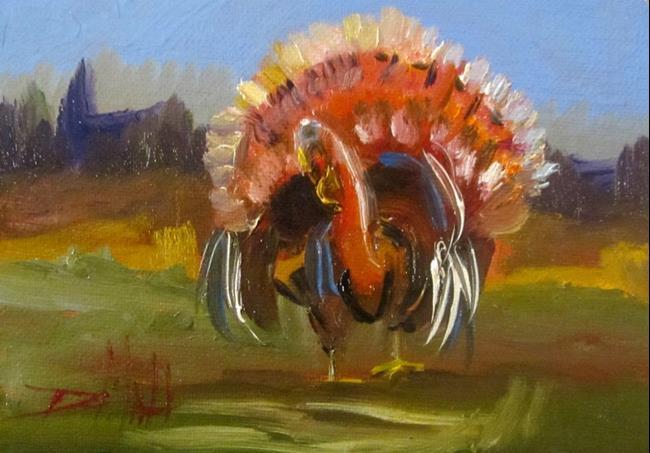Art: Turkey by Artist Delilah Smith