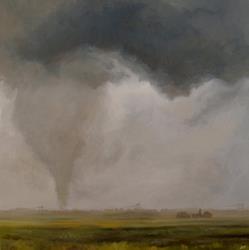 Art: Tornado Hunter by Artist Christine E. S. Code ~CES~