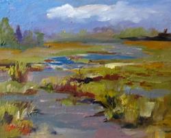 Art: Wet Lands by Artist Delilah Smith