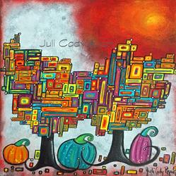 Art: Fall Fantasy by Artist Juli Cady Ryan