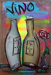 Art: Vino by Artist Laura Barbosa