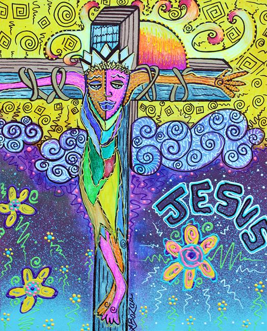 Art: Colorful Prayers by Artist Laura Barbosa