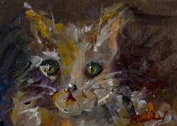 Art: Kitten by Artist Delilah Smith