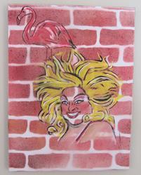 Art: Divine Brick by Artist Paul Lake, Lucky Studios