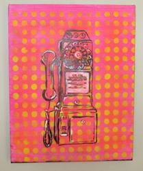 Art: Telephone Pop by Artist Paul Lake, Lucky Studios