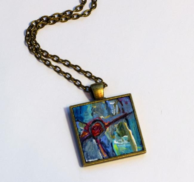 Art: Inside Wonderland ~ Original Wearable Art - Sold by Artist Dana Marie