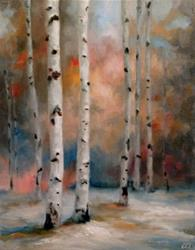 Art: Autumn Meets Winter by Artist Christine E. S. Code ~CES~