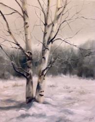 Art: Winter's Gray by Artist Christine E. S. Code ~CES~