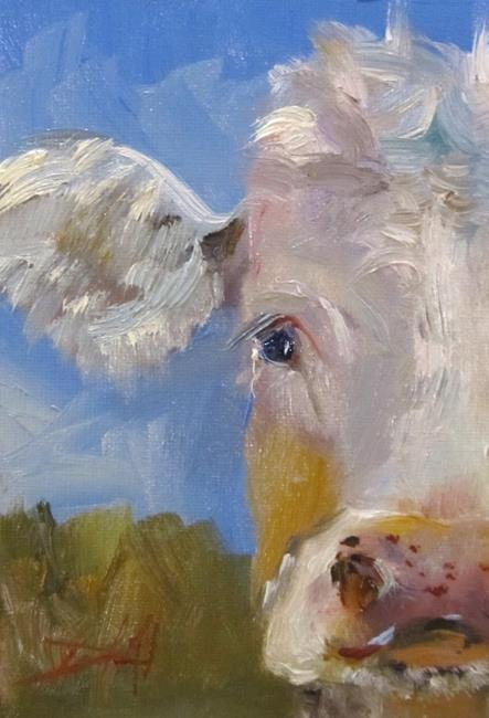 Art: Cow 11 by Artist Delilah Smith