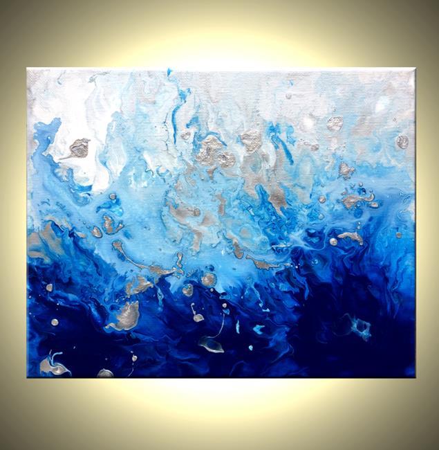 Art: CRASHING WAVES by Artist Daniel J Lafferty