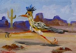 Art: Road Runner by Artist Delilah Smith
