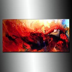 Art: ANGEL CALLING 8 by Artist HENRY PARSINIA