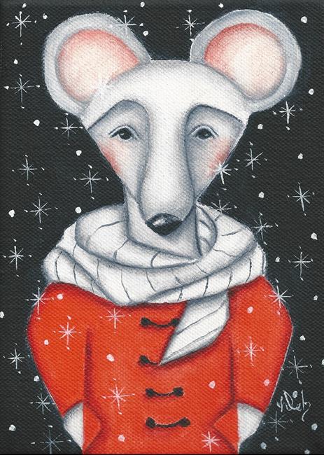 Art: Chris Mouse by Artist Deb Harvey