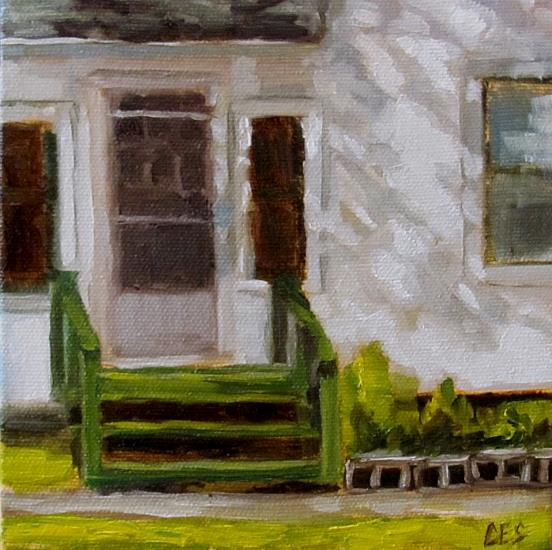 Art: Green Step by Artist Christine E. S. Code ~CES~