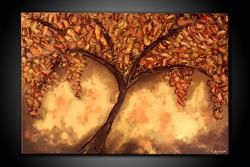 Art: METALLIC TREE by Artist Kate Challinor