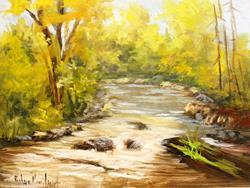 Art: San Juan River by Artist Barbara Haviland