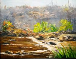 Art: San Juan Riverbed by Artist Barbara Haviland