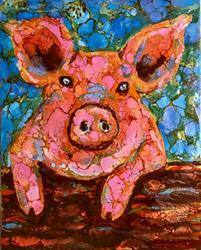 Art: Ms Piggy by Artist Ulrike 'Ricky' Martin
