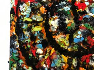 Detail Image for art Abstract Ammonite