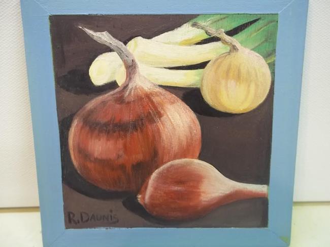 Art: ONIONS by Artist Rosemary Margaret Daunis