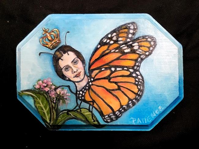 Art: Butterfly Upon the Sky: Dickinson Tribute by Artist Patience
