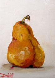 Art: Bartlett Pear-sold by Artist Delilah Smith