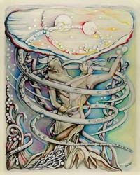 Art: en l'air par terre by Artist Doe-Lyn