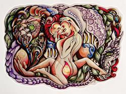 Art: Jewels of a Realm by Artist Doe-Lyn