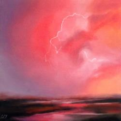 Art: Leo's Lightning by Artist Christine E. S. Code ~CES~