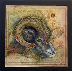 Art: Warrior Ram by Artist Alma Lee