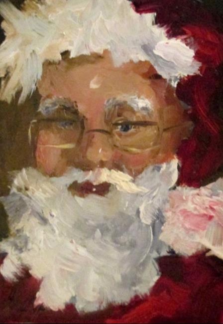 Art: Santa by Artist Delilah Smith