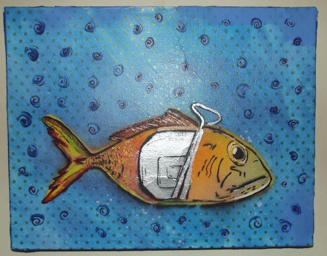 Art: Can Tuna by Artist Paul Lake, Lucky Studios