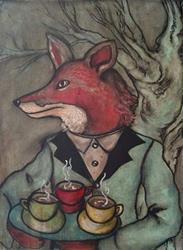 Art: The Gentleman Waiter by Artist Chris Jeanguenat
