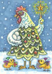 Art: EGGS FIRST CHRISTMAS by Artist Susan Brack