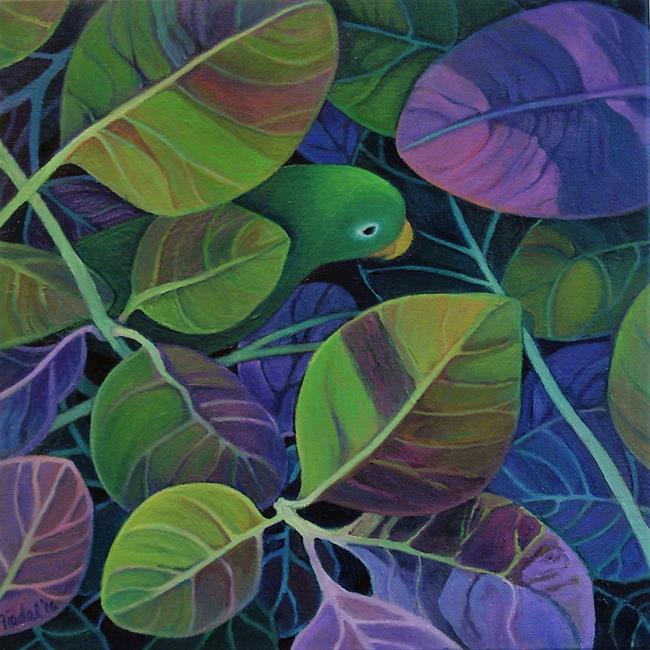 Art: Hideaway by Artist Elizabeth Fiedel