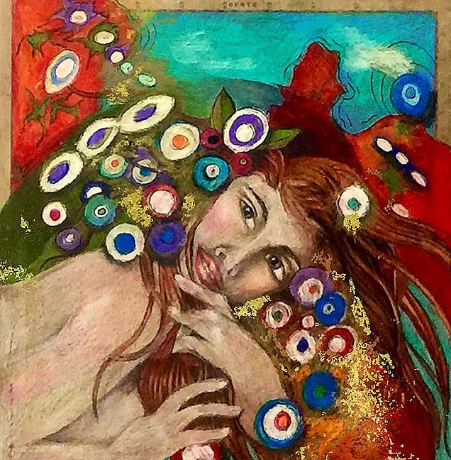 Art: Day Dream by Artist Alma Lee