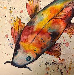 Art: Koi by Artist Ulrike 'Ricky' Martin